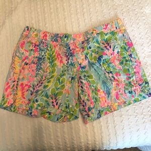 Lilly Pulitzer Ocean Trail Shorts EUC